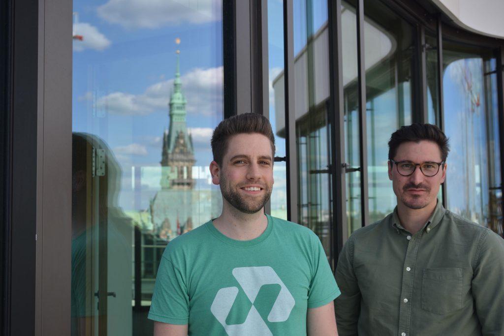 Gründer vom Tech-Start-up Nect sprechen über Hamburgs Zukunft